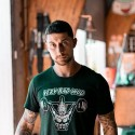 T-shirt charcoal black UNICORN SOLDIER for men | VERY BAD WOD