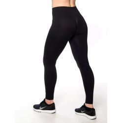 Training legging black high waist SEAMLESS for women | NORTHERN SPIRIT