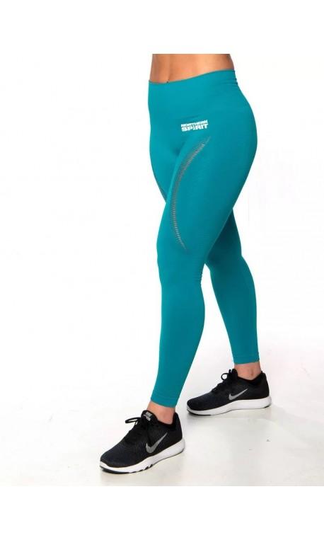 Legging Femme bleu taille haute SEAMLESS| NORTHERN SPIRIT