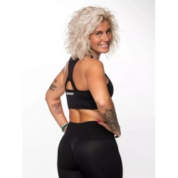 Training Crop Top black SEAMLESS for women | NORTHERN SPIRIT