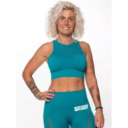 Crop top bleu SEAMLESS| NORTHERN SPIRIT