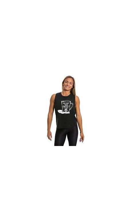 Muscle tank Femme Noir FOCUS| NORTHERN SPIRIT