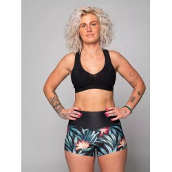 Training short multicolor AMAZONA for women | NORTHERN SPIRIT
