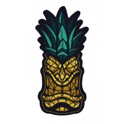 Velcro orange patch PINEAPPLE TIKI | PROJECT X