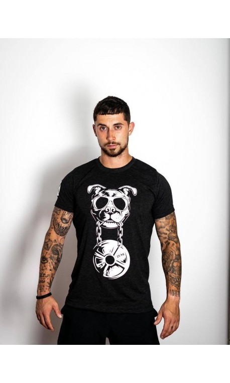 T-shirt charcoal black CANIWOD for men | VERY BAD WOD