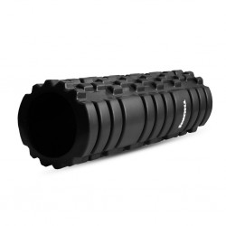 Black foam roller PRO 33 cm |THORN FIT