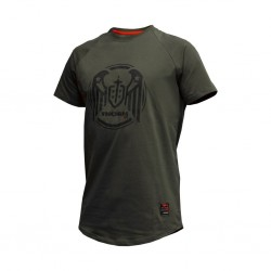 T-Shirt Homme vert WINGS ARMY GREEN| THORN FIT