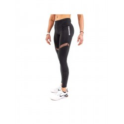 Training legging Black MESH PLUS for women - THORUS WEAR