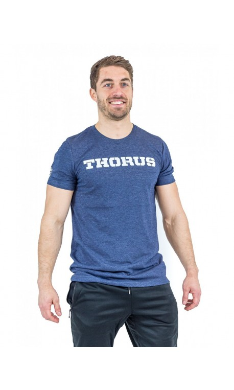 T-shirt homme bleu Classic DARK NAVY | THORUS WEAR