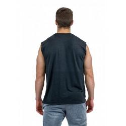 Muscle Tank BLACK for men   THORUS