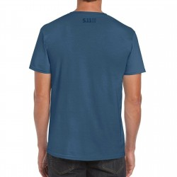 T-shirt Homme bleu SUNSET FIREPOWER 2020 Q3 | 5.11 TACTICAL