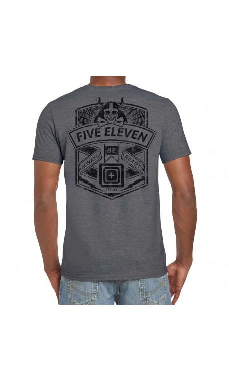 T-shirt Homme gris VIKING CREST 2020 Q3   5.11 TACTICAL