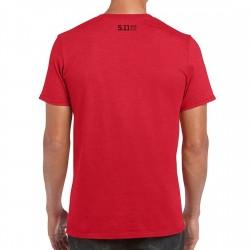 T-shirt Homme rouge SPARTAN ARROWHEAD 2020 Q3 | 5.11 TACTICAL