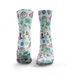 Chaussettes multicolores 90'S BABY | HEXXE SOCKS