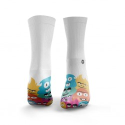 Multicolor workout LITTLE MONSTERS socks – HEXXE SOCKS