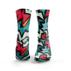 Chaussettes multicolores FIZZER| HEXXE SOCKS