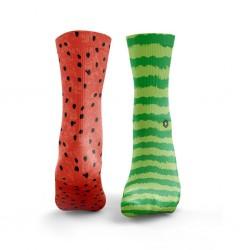 Chaussettes multicolores WATERMELON ODD | HEXXE SOCKS