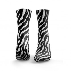 Multicolor workout ZEBRA black & white socks – HEXXE SOCKS