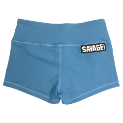 Short femme bleu BLUE STEEL SAVAGE BARBELL