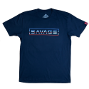 T-shirt midnight blue UNCLE SAM for men | SAVAGE BARBELL