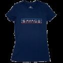 SAVAGE BARBELL T-Shirt femme bleu UNCLE SAM