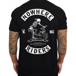 T-shirt black nowhere riders for men | PROJECT X