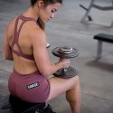 Workout woman short RUSTY  SAVAGE BARBELL