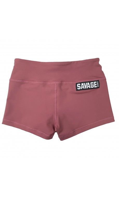 Training short pink RUSTY for women | SAVAGE BARBELL