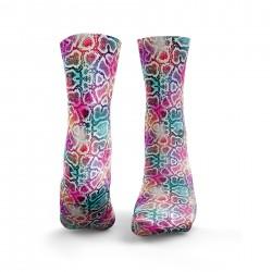 Multicolor workout SNAKESKIN socks – HEXXE SOCKS