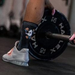 Chaussettes LIFTING DUCKS Black| LITHE APPAREL