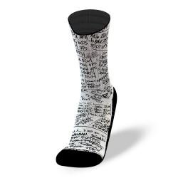 White workout socks HERO WODS | LITHE APPAREL
