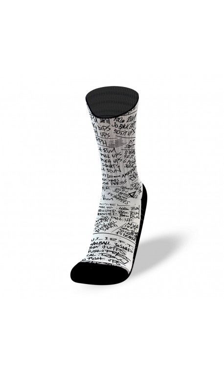 Chaussettes HERO WODS White | LITHE APPAREL