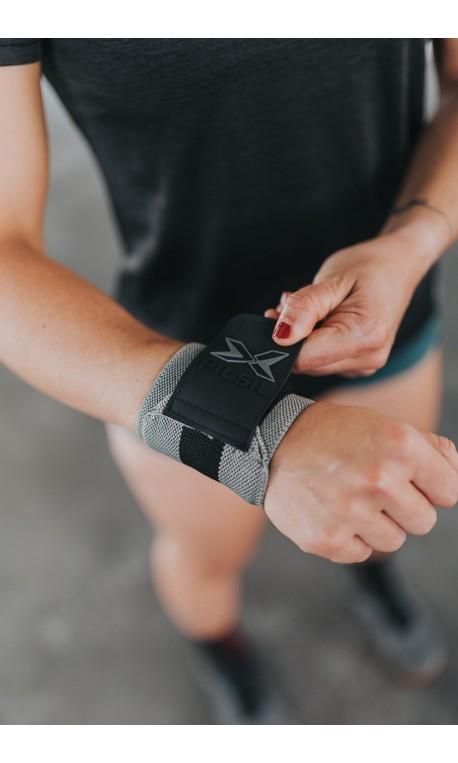 Unisex Elastic Wrist Wraps Green/Black - PICSIL