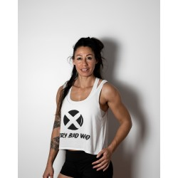 Crop Top blanc ORIGINAL| VERY BAD WOD