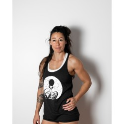 Débardeur Femme charcoal black DEATH BY | VERY BAD WOD