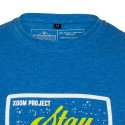 T-shirt blue FOCUSED for men | XOOM PROJECT