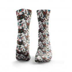 Chaussettes multicolores AMERICA HELL YEAH| HEXXEE SOCKS