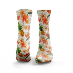 Chaussettes multicolores HAWAIIAN VIBES| HEXXEE SOCKS