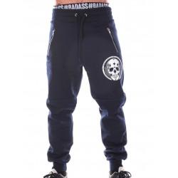 Jogging Crossfit Homme - Navy Blue Pants Skull
