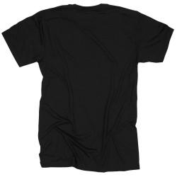 T-shirt black THE STRATA for men - ROKFIT