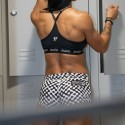 Training short multicolor for women NEW WAVE |ROKFIT