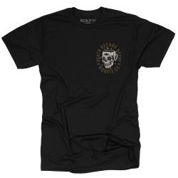 T-Shirt Homme noir DEATH BEFORE DECAF| ROKFIT