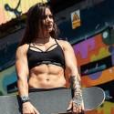 Training bra black THE ELISSA for women | ROKFIT
