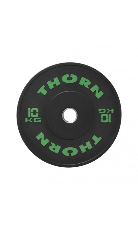 10 KG Bumper Plate | THORN+FIT EQUIPMENT