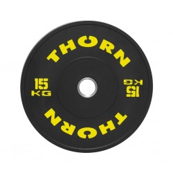 15 KG Bumper Plate | THORN+FIT EQUIPMENT