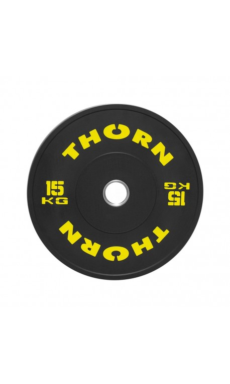 15 KG Bumper Plate   THORN+FIT EQUIPMENT