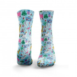 Chaussettes bleues CHRISTMAS PARTY| HEXXEE SOCKS
