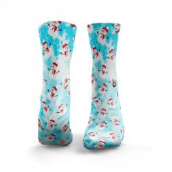 Chaussettes multicolor SNOWMEN| HEXXEE SOCKS