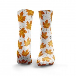 Chaussettes multicolor AUTUMN LEAVES 2| HEXXEE SOCKS