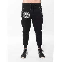 Jogging Black HEAVY PANTS SMALL SKULL | NORTHERN SPIRIT